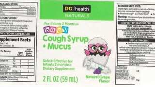 Baby cough syrup recalled over possible bacterial contamination