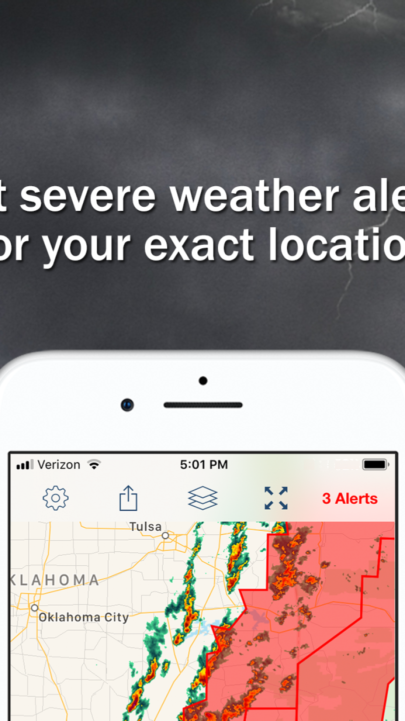Storm Shield: Get severe weather alerts for your iOS and Android device