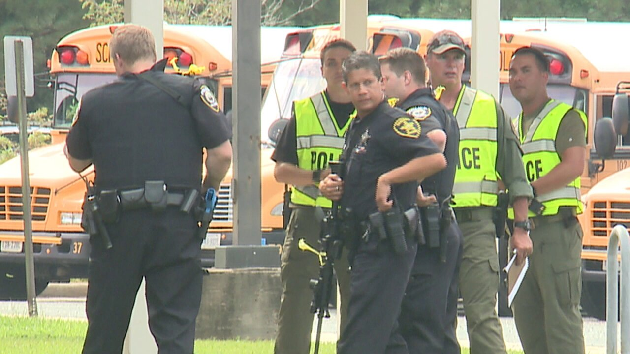 Chesapeake high school holds active threat exercise ahead of new school year