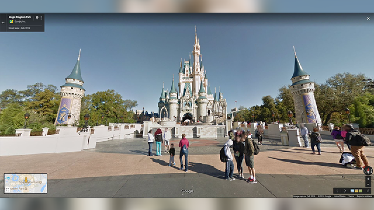 Take a virtual walk through Disney Parks with new 360-degree panoramas on Google Street View