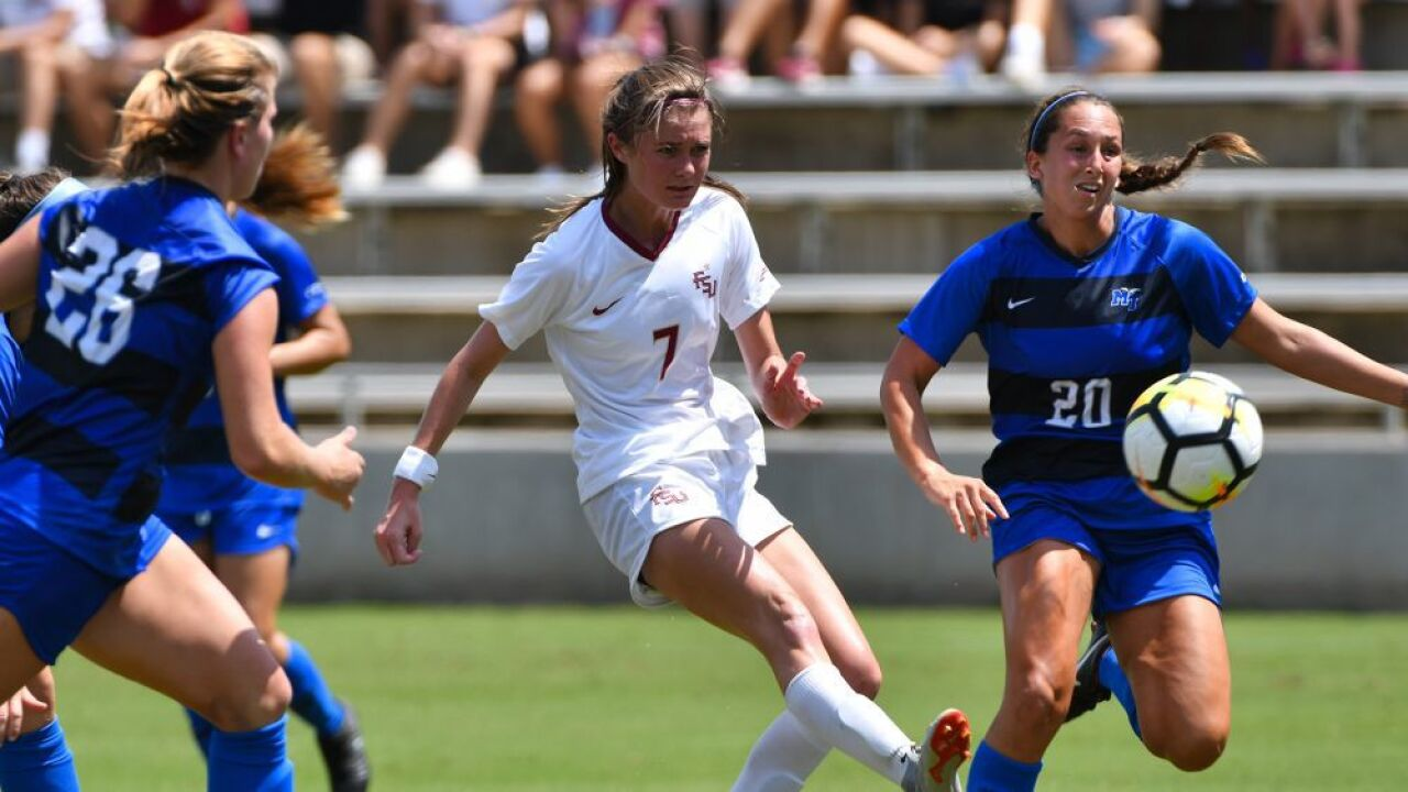 FSU Soccer Sets Record With Shutout Of Middle Tennessee