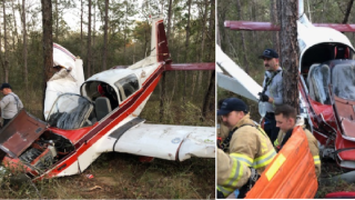 Small plane crashes near Tallahassee International Airport