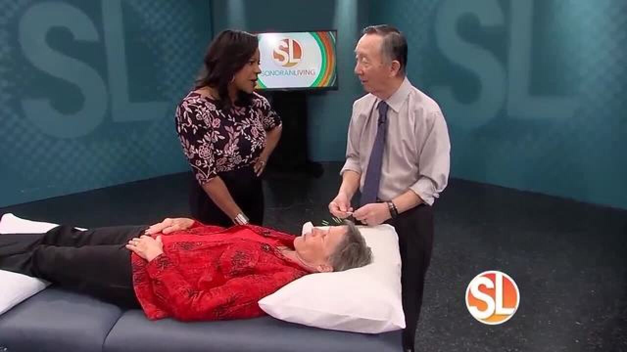 Stop shingles pain with acupuncture