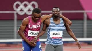 US Olympic Runner Crossed The Finish Line With Competitor After Tumble