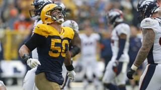 Linebacker Blake Martinez named Packers' nominee for Walter Payton Man of the Year Award