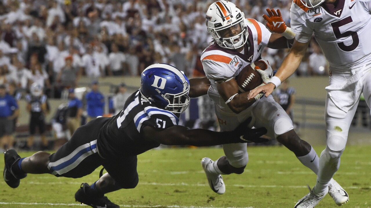 Hokies hammered by Duke in worst home conference loss in 69 years
