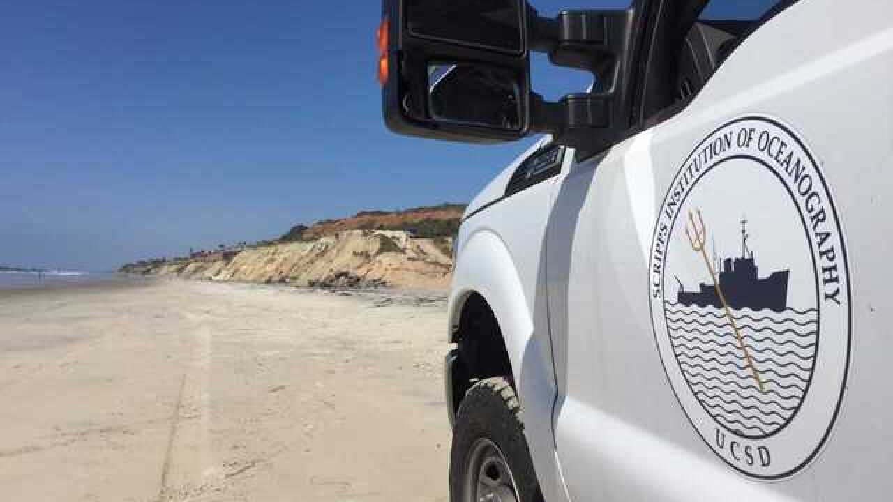 Lasers, drones help Scripps study the shoreline