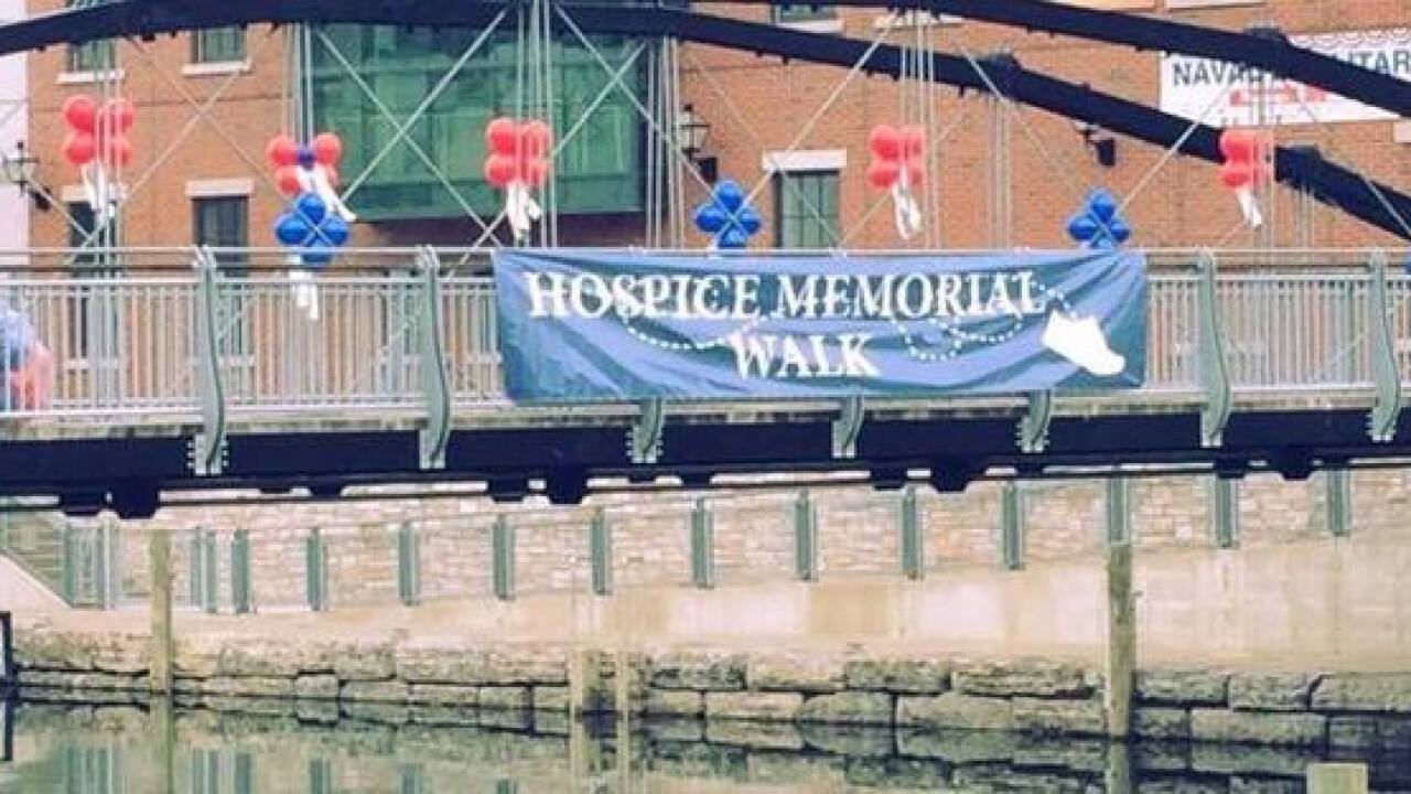 Hospice Memorial Walk heads to Canalside