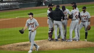 Mize no-hitter broken up, then Tigers lose 4-3