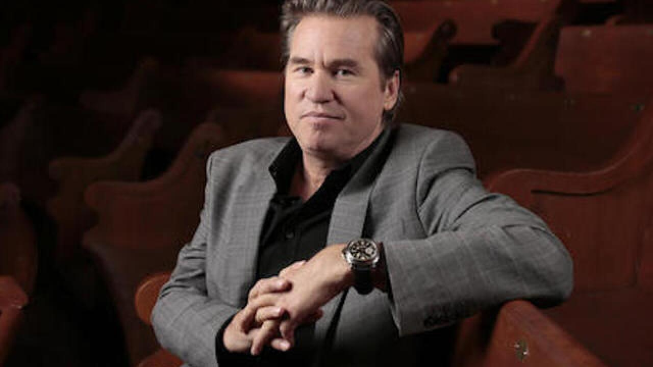 Val Kilmer says he doesn't have cancer, says Michael Douglas is 'misinformed'