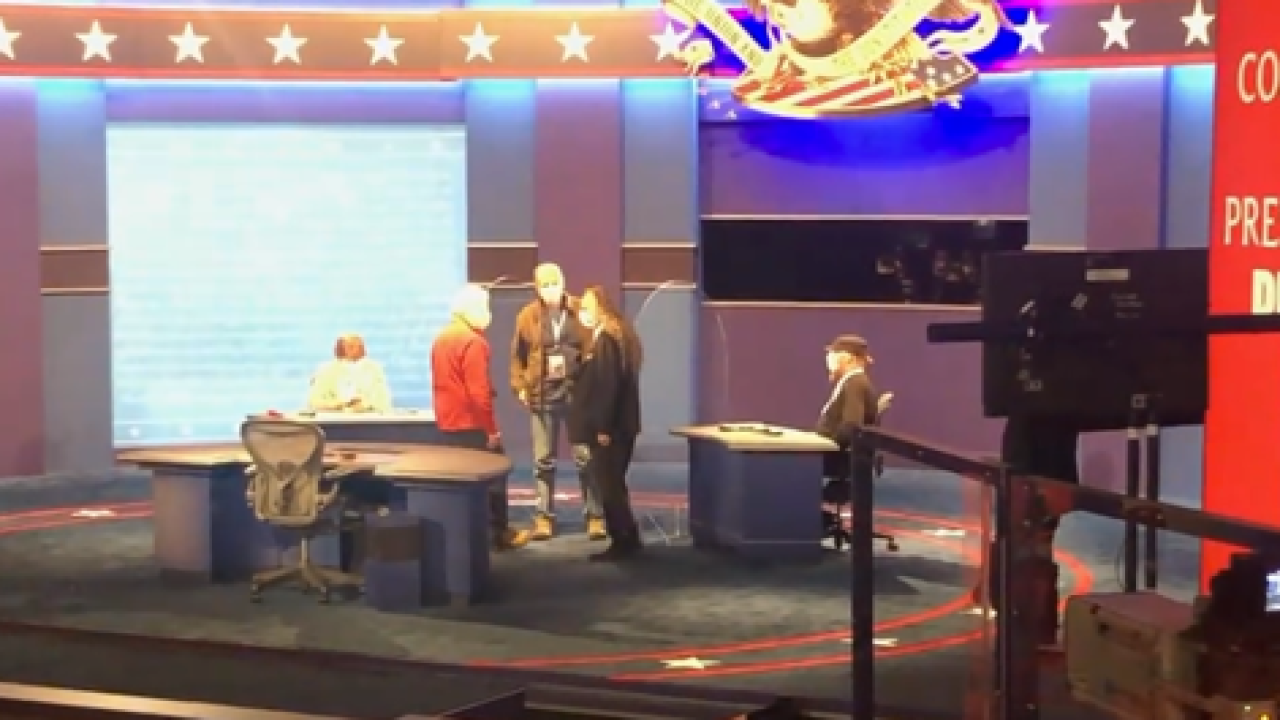 Should the VP Debate happen with candidates in-person?