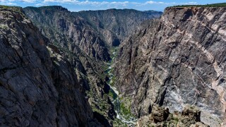 Black Canyon of the Gunnison by Heinrich Kolb (3).jpg