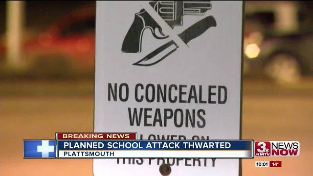 Sheriff: credible threat at Plattsmouth H.S.