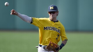 Ted Burton Michigan Baseball
