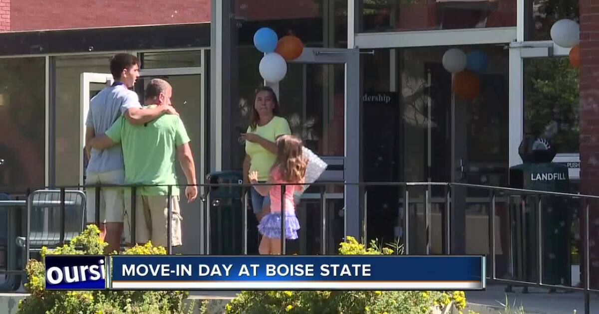 HAPPENING TODAY: Move in day at Boise State