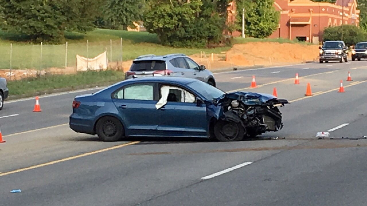 1 Seriously Injured In Robinson Road Crash