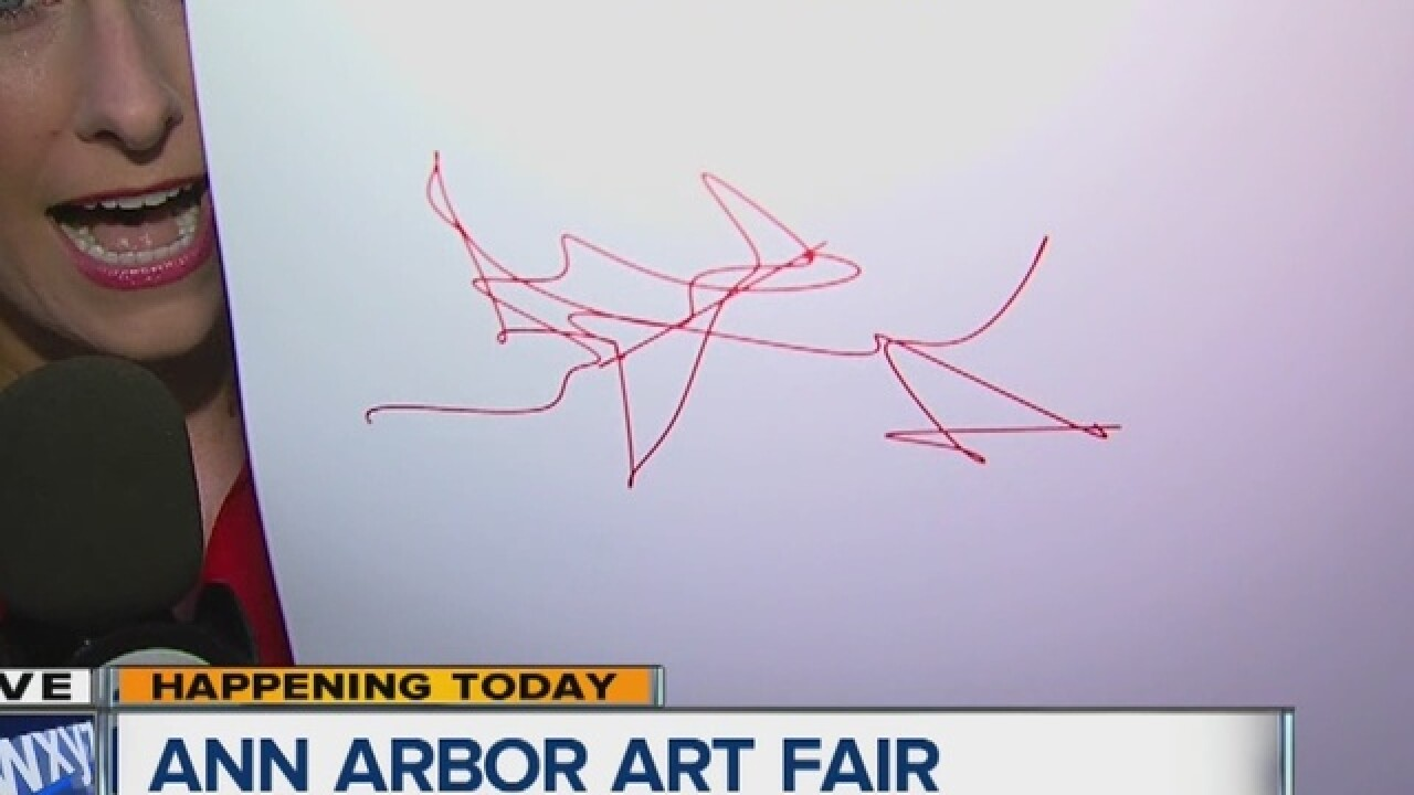 Ann Arbor Art Fair kicks off today