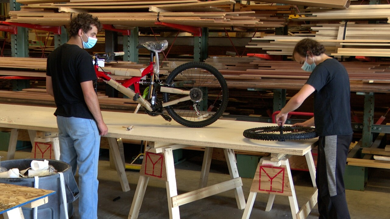Essential Eats Distributors donate 195 bikes to the Crow Nation