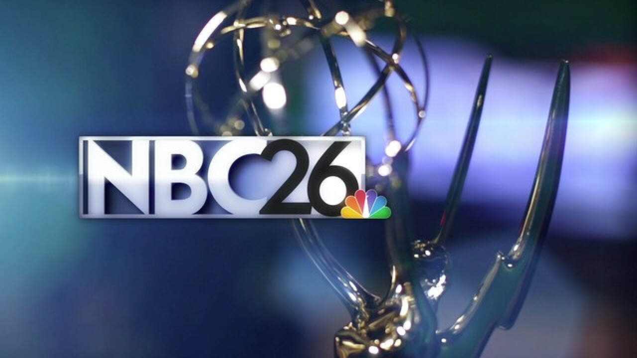 NBC26 nominated for three Chicago/Midwest Regional Emmy® awards
