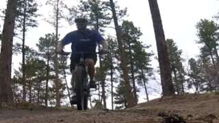 New mountain bike trails in Ute Valley Park