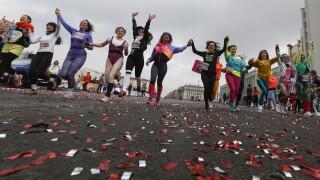 APTOPIX Belarus Women's Day