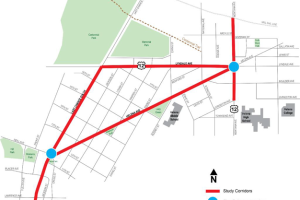 Five Point Intersections and Corridor Connections Multimodal Traffic Study.png