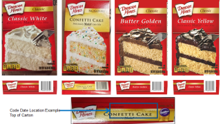 Four Duncan Hines cake mixes recalled, possibly linked to Salmonella outbreak