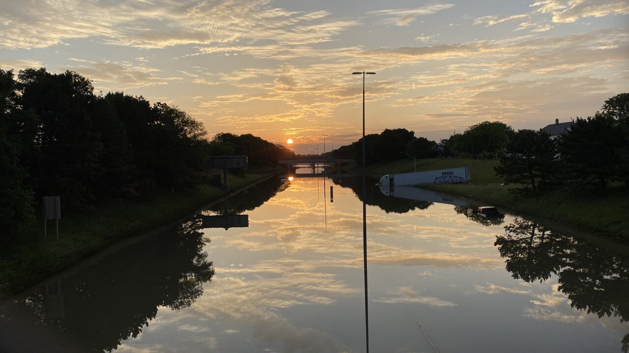 I-94 flooding