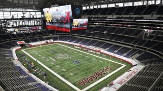 2021 Rose Bowl Football AT&T Stadium