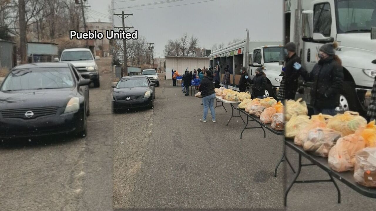 Food distribution on Monday in Pueblo