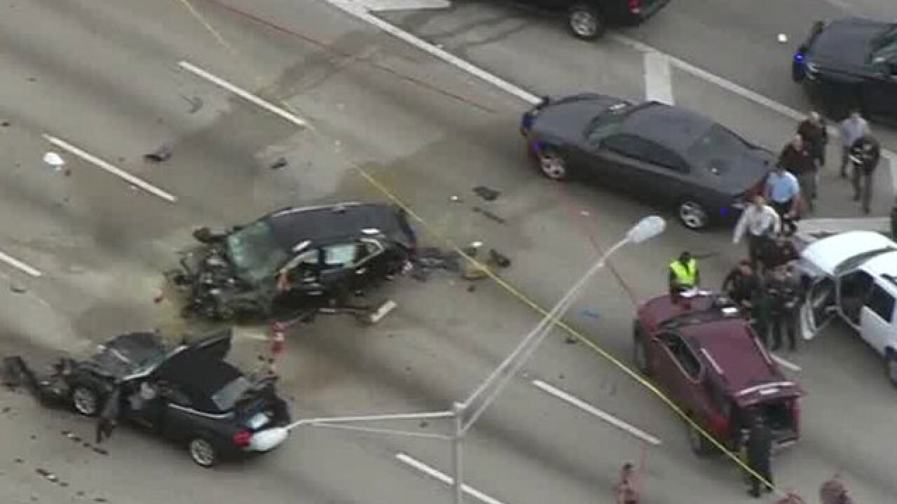 Deputy killed shooting suspect on I-95 in FL