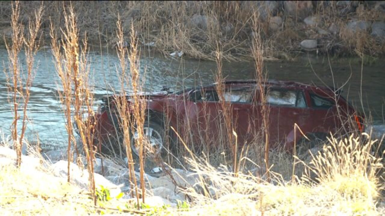 Mom dies, baby critical after car found in Spanish Fork River about 13 hours aftercrash