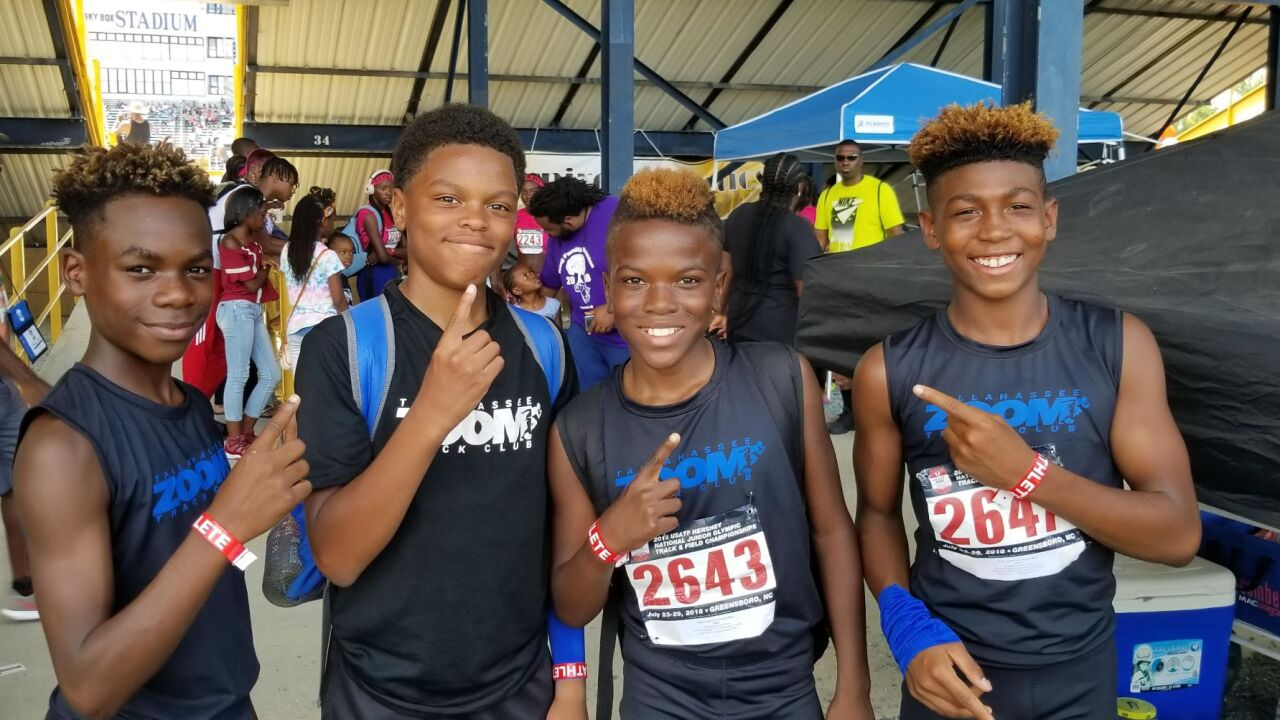 Tallahassee Zoom Celebrates Five National Championships, 17 All-Americans At USATF Junior Olympics