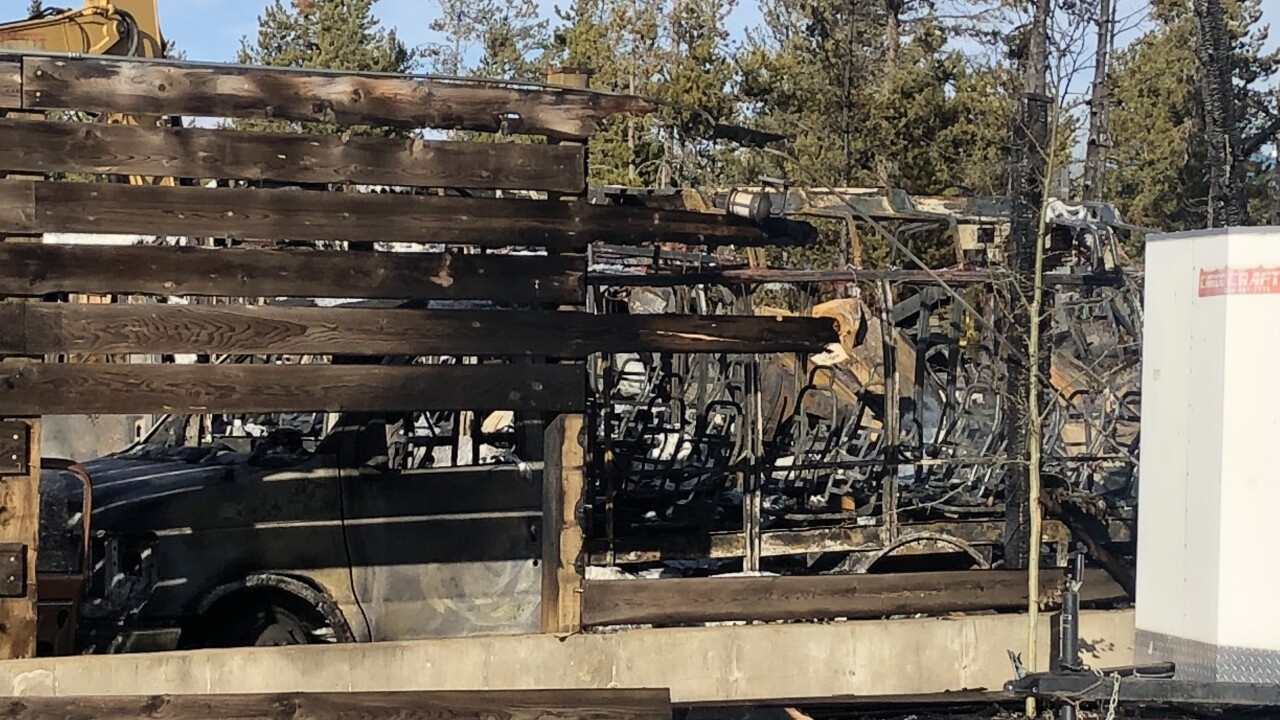 West Yellowstone blaze forces some evacuations