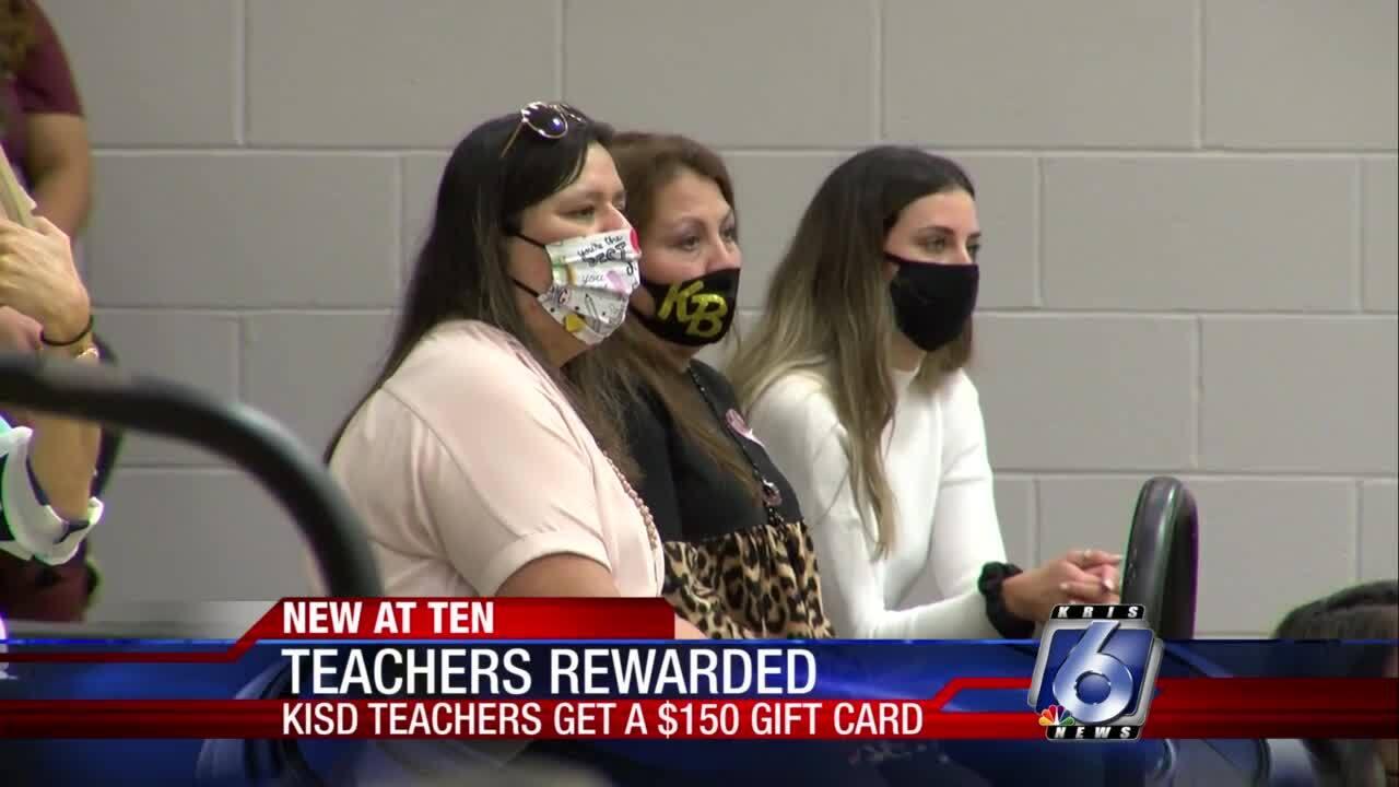 Kingsville teachers earn surprise gift