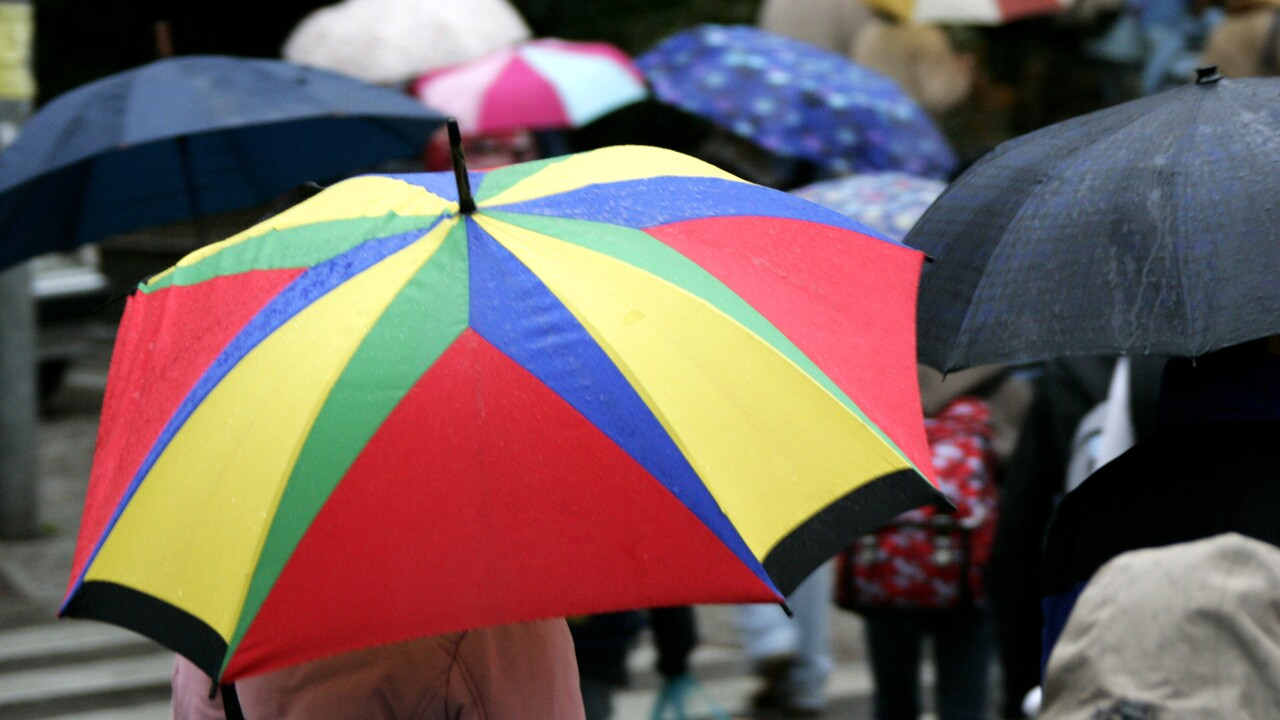 STORCH umbrella rain wet weather