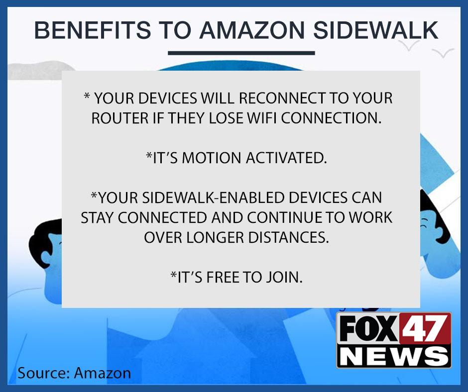 Benefits to Amazon Sidewalk