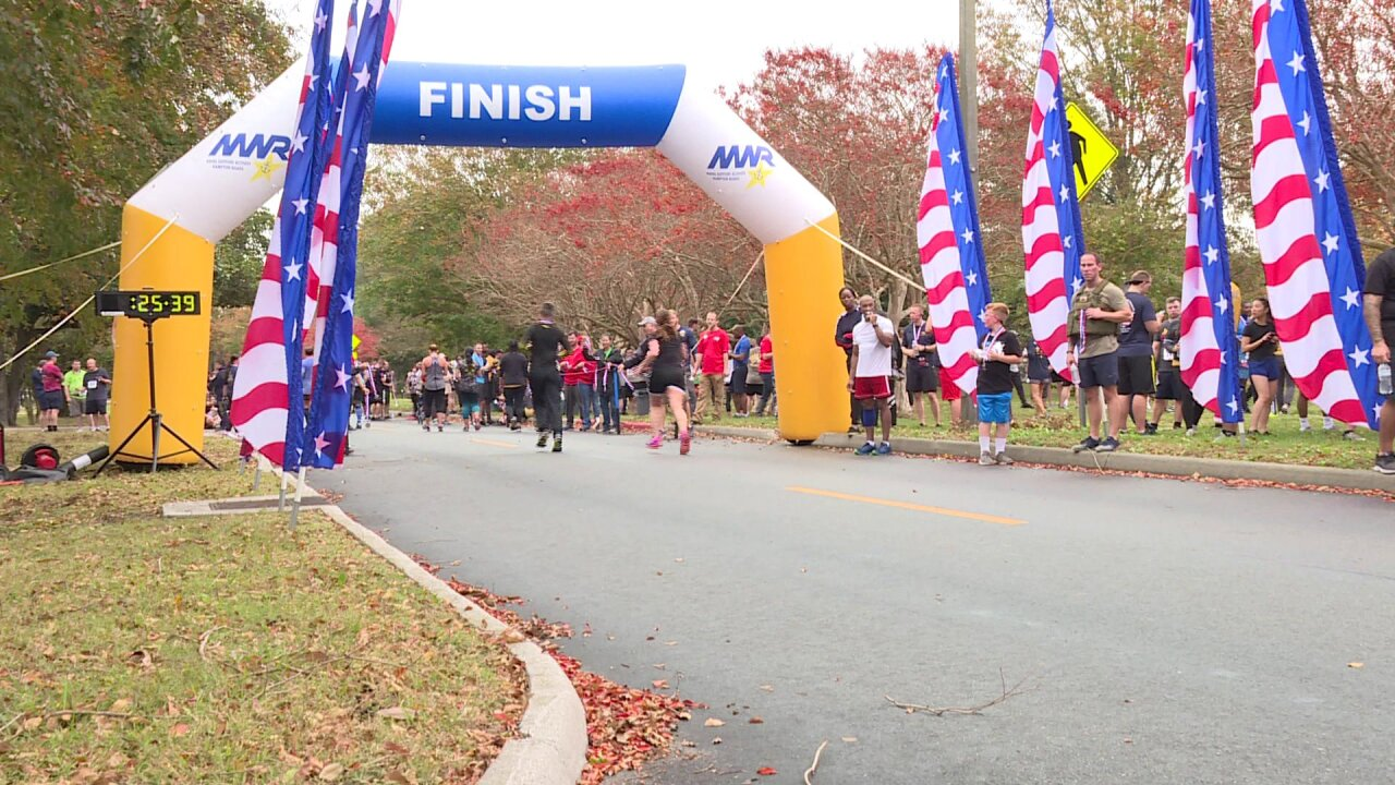 Runners honor injured veterans during 5th annual Wounded Warrior 5K