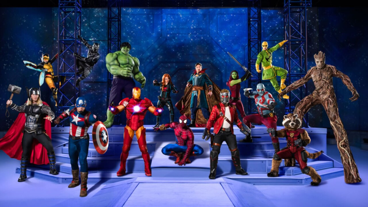 Marvel Universe Live! comes to NorfolkScope