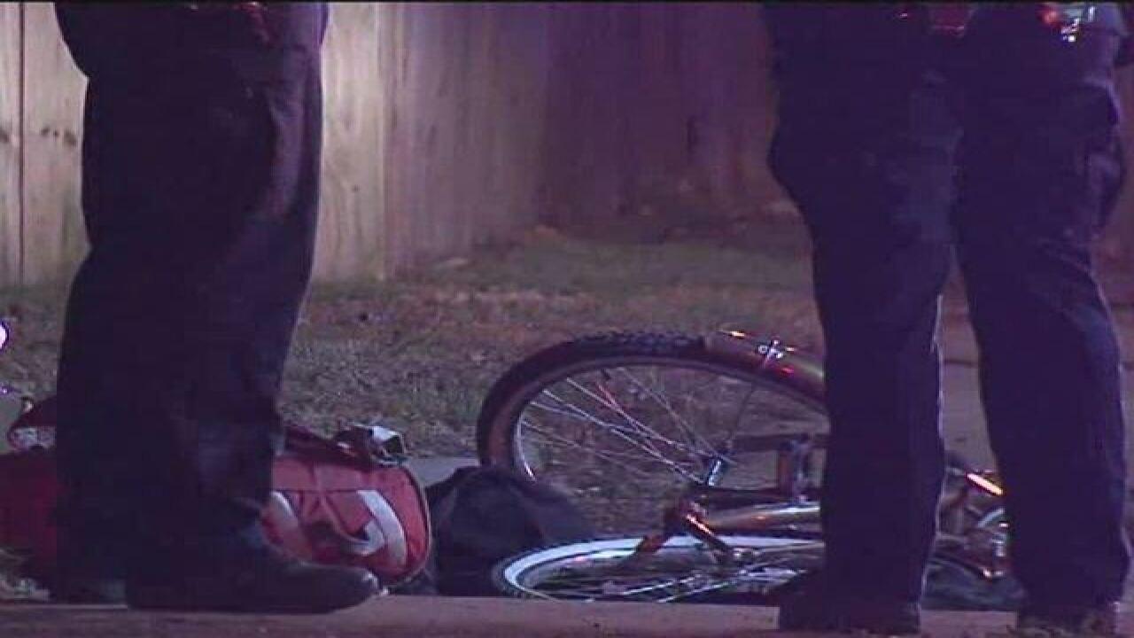 PD: Man shot multiple times while riding bike