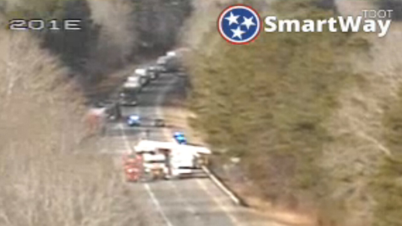 I-40 East In Dickson County Partially Reopened