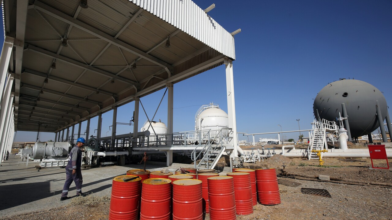 Oil prices soar after Iran attacks airbases housing US troops in Iraq