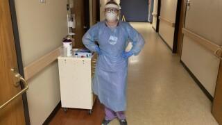 Michelle Woodward St. Mary's nurse COVID-19