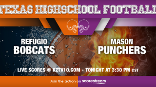LIVE SCORES: Refugio Bobcats vs Mason Punchers