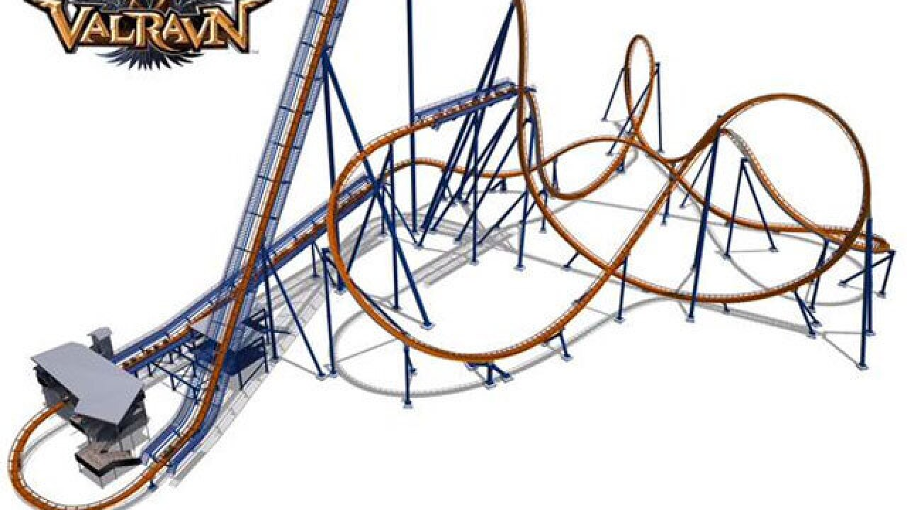Cedar Point: Valravn coaster to open in May