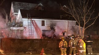 Crews battling two-alarm fire on Maryland Street in Buffalo