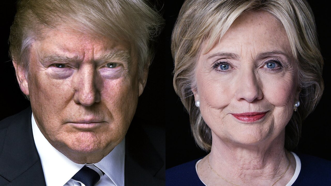 New poll shows Clinton over Trump by double-digits