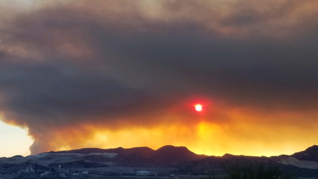 Woodbury Fire: Residents told to evacuate Roosevelt and Roosevelt Lake area