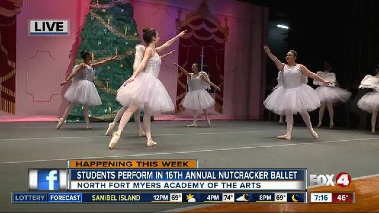 North Fort Myers Students perform The Nutcracker
