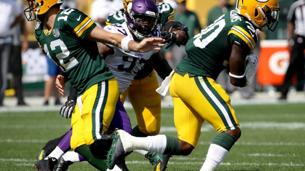 Packers vs Vikings: Game Updates